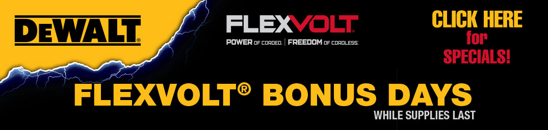FlexVolt Bonus Days