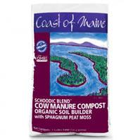 Schoodic Blend Cow Manure Compost