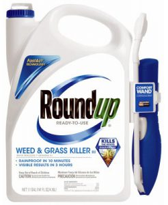 Roundup Weed & Grass killer with wand