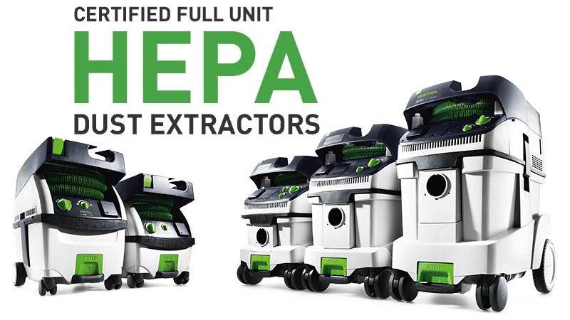 Hepa Dust Extractors