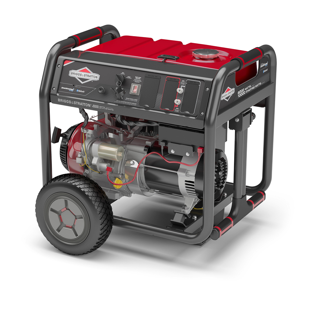Briggs and Stratton 800 series generator with Bluetooth