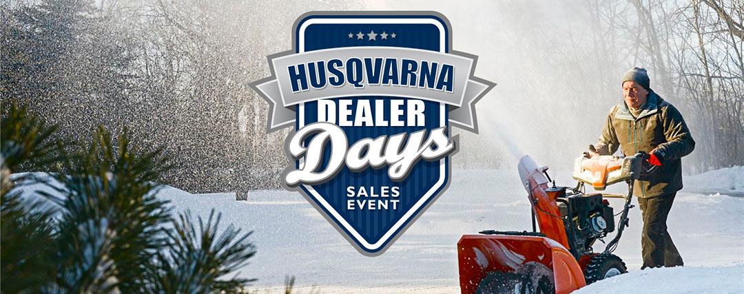 Husqvarna Dealer Days