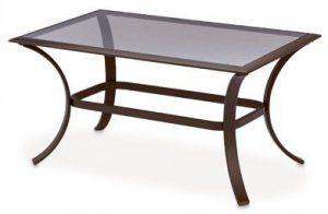 Bellevue Glass Top Coffee Table