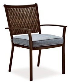 Concord Stationary Wicker Chair