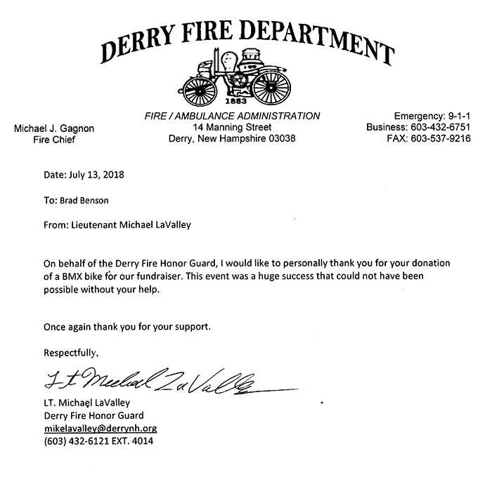 Derry Fire Department