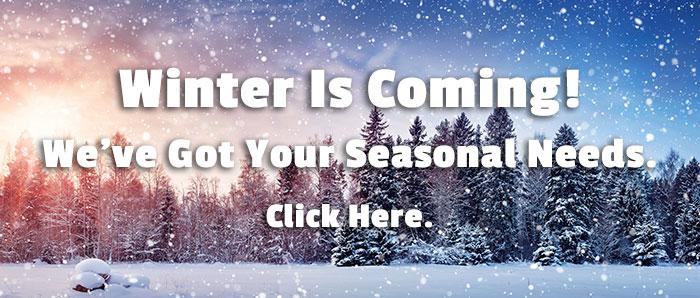 Winter Seasonal Items - Click Here