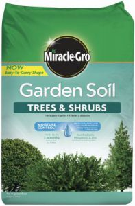 Miracle Gro Tree and Shrub Soil