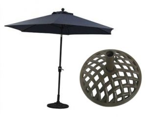 Beaumont Umbrella and Base