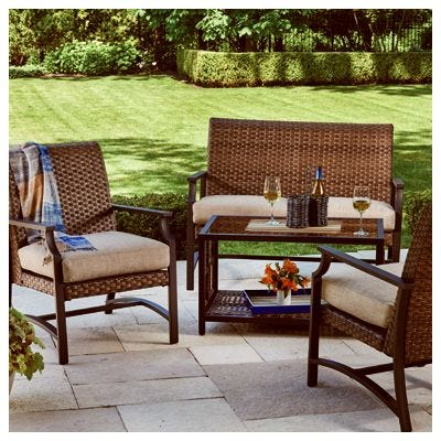 Tremendous Patio Furniture And Decor Benson Lumber Hardware Evergreenethics Interior Chair Design Evergreenethicsorg