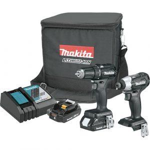 Makita-CX200RB-Sub‑Compact-Brushless-Cordless-2‑Pc.-Combo-Kit