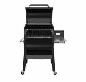 SmokeFire EX4 Wood Fired Pellet Grill  Black