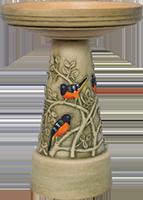 Oriole-Birdbath