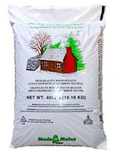 Maine Woods Pellet Fuel 100% Wood