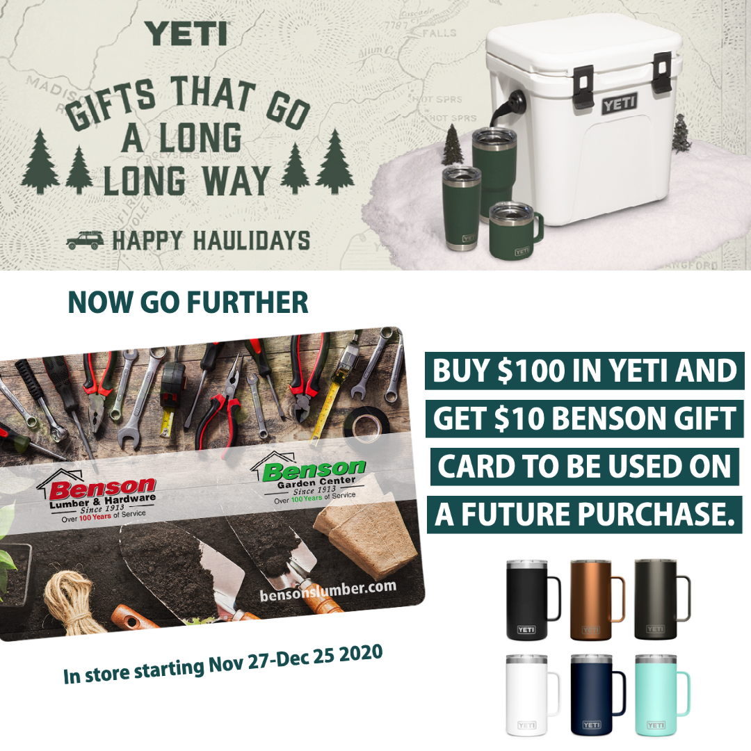 $10-gift-card with $100 in Yeti offer
